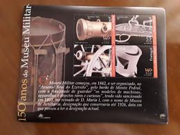 Portugal 2001. 5HB .Museo Militar. Yvert Bl176, (2498/01). Michel Bl171. Bajo Facial. - Blokken & Velletjes