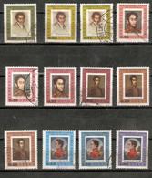 VENEZUELA. 1966. AÉREO. YT 895/906. SIMÓN BOLIVAR - Venezuela