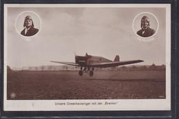 B52 /   Ozeanflieger Flieger Köhl + Hünefeld M. Junkers Bremen Amerikaflieger - Aviadores