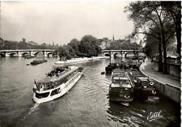 PENICHE  LE PONT NEUF  PARIS - Houseboats