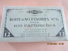 Boîte D'accessoires Pour 100 Cartouches De Chasse Cal 12 - Equipement
