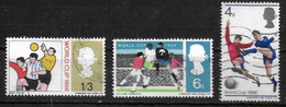 GRANDE BRETAGNE  N° 441/43  Oblitere   Cup 1966 Football Soccer Fussball - 1966 – Angleterre