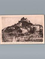 24 - Dordogne - Les Eyzies - Cpa - Capitale Préhistorique - Le Vieux Château , Musée Préhistorique , Les Grands Rochers - Altri Comuni