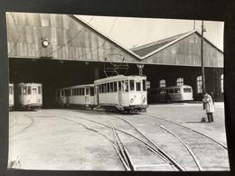 Photographie Originale De J.BAZIN : C.de Fer Économiques Du NORD : Réseau De VALENCIENNES Dépôt  En 1964 - Treinen