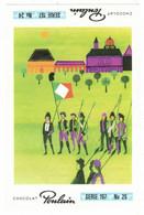 IMAGE CHROMO CHOCOLAT POULAIN Série 197 LA MARSEILLAISE => Image N° 25 REVOLUTION HYMNE NATIONAL FRANCAIS - Poulain