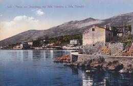 AK - ICICI I/d Kvarnerbucht - Strandweg Mit Villa Triestina Und Villa Tomasic 1912 - Croatia