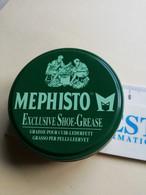 Boite Cirage Graisse Pour Cuir Chaussures Mephisto - Boxes