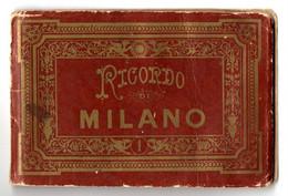 "Leporello Italien: ""Ricordo Milano"", 12 Bildern Mit Je Ca. 7,5 X 11,5 Cm, - Milano (Milan)"