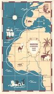 CPSM Moutarde AMORA - PROSPECTION D'AFRIQUE 1952 1953 - Carte Itinéraire - Dijon1952 - Timbrée, Oblitérée  ( ͡◕͜ʖ ͡◕) ♦ - Publicité