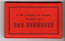 Leporello Bad Nenndorf, 12 Bilder, Je Ca. 5 X 8 Cm - Bad Nenndorf