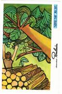 IMAGE CHROMO CHOCOLAT POULAIN Série 240 LES JOYEUX BUCHERONS => Image N° 50 METIER MUSIQUE VERMEER HOURDEAUX - Poulain