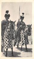 CPSM Moutarde AMORA - CAMEROUN - Cavaliers - Timbrée, Oblitérée 1953 ( ͡◕͜ʖ ͡◕) ♦ - Publicité