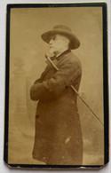 CDV. Portrait D'un Homme. Photographe B. Malbret. Carcassonne. France. - Oud (voor 1900)