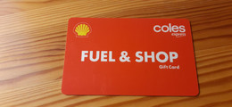 Coles Express Gift Card Australia - Shell - Gift Cards