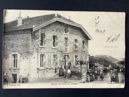 CPA: VITREY : Le Bureau De Poste Avec Timbre La Semeuse 1903 - Unclassified