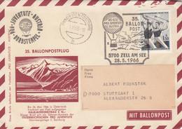 Österreich Brief Ballon 1966 - 1945-60 Brieven