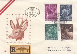 Österreich FDC - 1945-60 Storia Postale