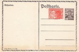Schweiz Privat Postkarte 1925 - Cartas