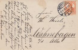Deutsches Reich Postkarte 1916 - Cartas