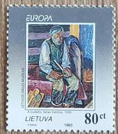 Lituanie - YT N°485 - Europa / L'Europe Et Les Découvertes - 1994 - Neuf - Lithuania