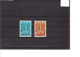 Europa 1966 Islande - 1966