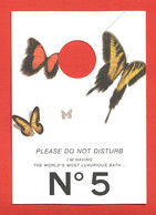 F-Accroche-porte  Chanel - N°5   Perfume Card - USA - Modern (vanaf 1961)