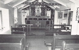TRISTAN DA CUNHA - Interior Of St. Mary's Church - Publ. R. Svensson - Saint Helena Island