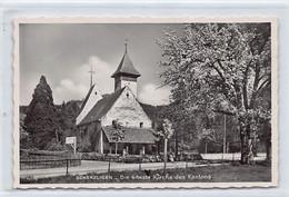 THUN (BE) Kirche Scherzligen - Ed. Perrochet 11075 - BE Berne