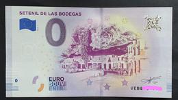 BILLETE 0 Euro Souvenir 0 € De ESPAÑA : SETENIL DE LAS BODEGAS - CADIZ - Ohne Zuordnung