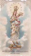 SANTINI-MARIA-SANTUARIO DELLA MADONNETTA-GENOVA --1903- - Devotion Images