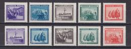 ESPAÑA 1938 - Ejercito Y Marina Serie Nueva Sin Fijasellos Edifil Nº Sh849 -MNH- - 1931-50 Nuevos & Fijasellos