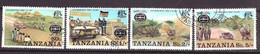 Tanzania Block 74 T/m 77 Used (1977) - Tanzanie (1964-...)