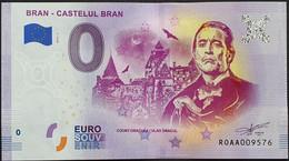 BILLETE 0 Euro Souvenir 0 € De RUMANIA: DRAKULA, BRAN - CASTELUL BRAN - Ohne Zuordnung