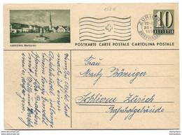 """93 - 79 - Entier Postal Avec Illustration """"Amriswil"""" Oblit Mécanique - Entiers Postaux"""