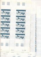 EC-728: TAAF: Lot Avec Feuilles**  Des  PA N°74-96-100-101 - Luchtpost