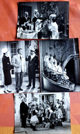 4 OLD PRESS PHOTOS  HANS MOSER & Andere Uit  Film  TRAPP FAMILY Pictures 18/13 Cm - Fotos