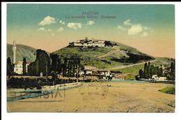 "GREECE , POSTCARD "" LA NOUVELLE GRèCE . ELASSONA -  ΝΕΑ ΕΛΛΑΔΑ. ΕΛΑΣΣΟΝΑ , MILITARY MAIL STAMP , 1941 . - Grèce"