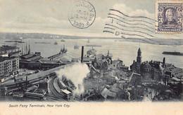 NEW YORK CITY - South Ferry Terminals - Publ. Arthur Martin 1002 - Non Classificati