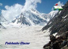 Tajikistan Fedchenko Glacier UNESCO New Postcard Tadschikistan AK - Tajikistan