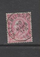 COB 46 Oblitération Centrale WAESMUNSTER - 1884-1891 Leopold II