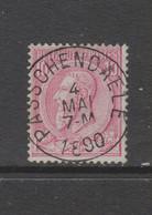 COB 46 Oblitération Centrale PASSCHENDAELE - 1884-1891 Leopold II