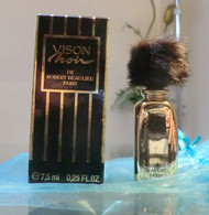 VISON NOIR - EDP 7,5 ML De ROBERT BEAULIEU - Miniaturen Flesjes Dame (met Doos)