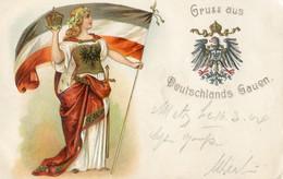 Allemagne - Carte Patriotique - Gruss Aus Deutschlands Gauen - Carte Gaufrée - Other