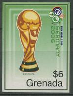 Grenada 2006 Fußball-WM Deutschland Pokal 5749 Postfrisch - Grenada (1974-...)