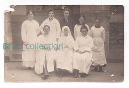 Montargis, Hôpital Militaire, Infirmières, 1919 (précisé Montargis Mais Hospitalisé à Montluçon, Rue Des Conches) - Personajes