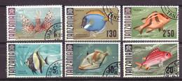 Tanzania 28 - 29 - 31 - 32 - 33 - 34 Used (1967) - Tanzanie (1964-...)