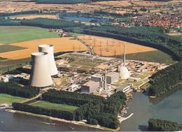 DE-BW: PHILIPPSBURG: Kernkraftwerk - Seit 31. Dezember 2019 Abgeschaltet - Luftaufnahme (1985) - Other
