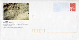 """PAP Avec Timbre """"LUQUET/RF"""" Et Illust. """"MONUM : GROTTE DE PAIR-NON-PAIR, CHEVAL GRAVE"""" - Listos A Ser Enviados: Otros (1995-...)"""