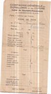 Dépt 77 - Cie Gale Du Duralumin Usine De COURTALIN-POMMEUSE Par FAREMOUTIERS - Fiche De Paye Févr. 1948 Pierre BOURGEOIS - Faremoutiers