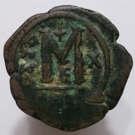 AE Follis - Justin II (565-578 AD) Byzantine Empire - Byzantine